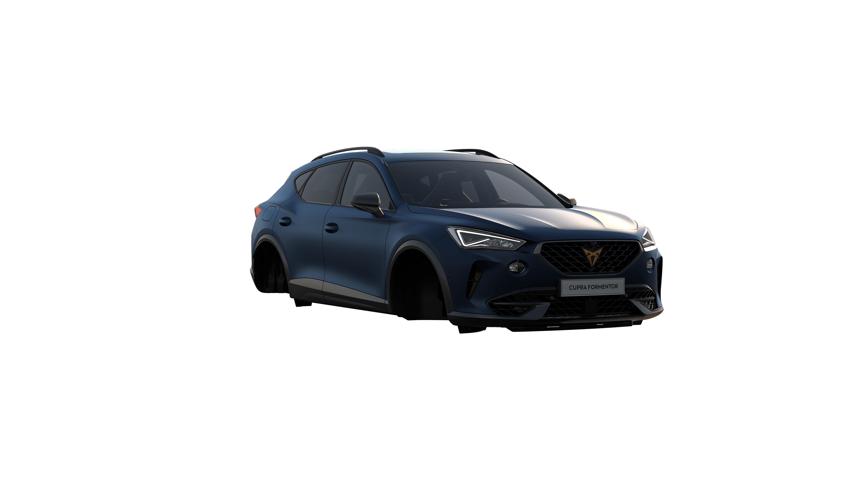 new cupra formentor available in petrol blue matte colour